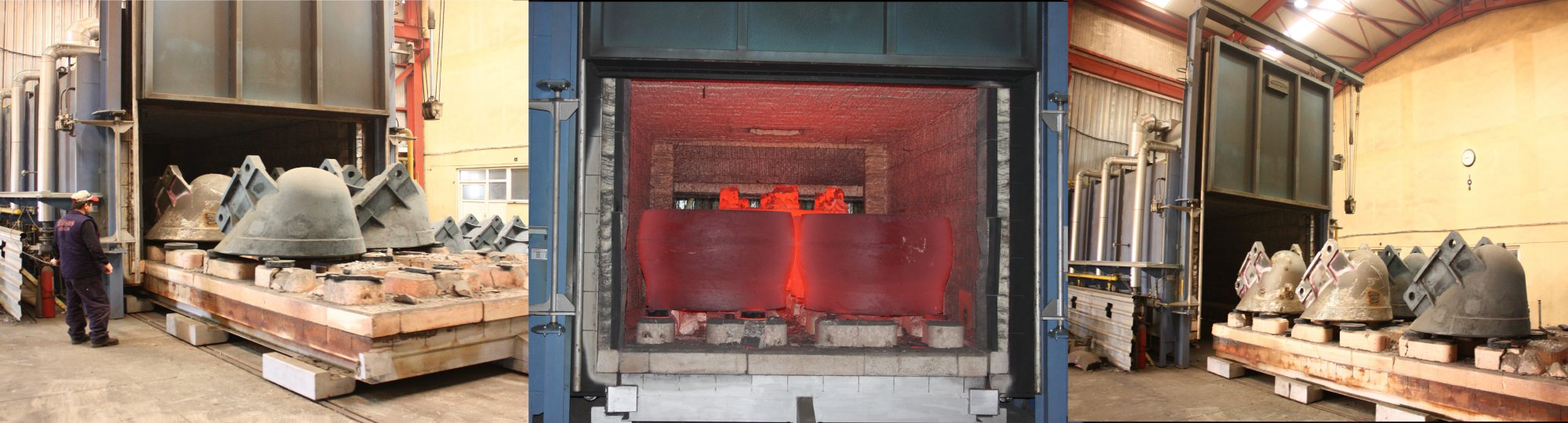 SANDBLASTING | ANNEALING | OPERATIONS AFTER CASTING...